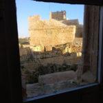 ファザードにある2階の窓からの景色
