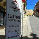 第一回ゴゾ日本友好イベントが開催されました