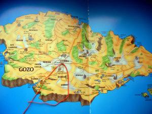 ゴゾの地図