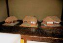 3家の模型