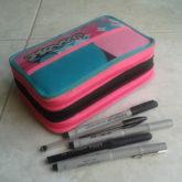 日本の小学校とは違うマルタの筆記用具