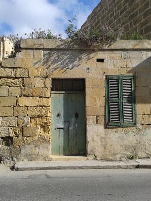 ゴゾやマルタには空き家が多い